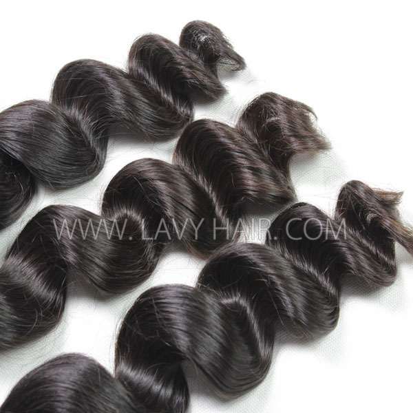 Superior Grade 1 bundle loose wave Virgin Human hair extensions Brazilian Peruvian Malaysian Indian European Cambodian Burmese Mongolian