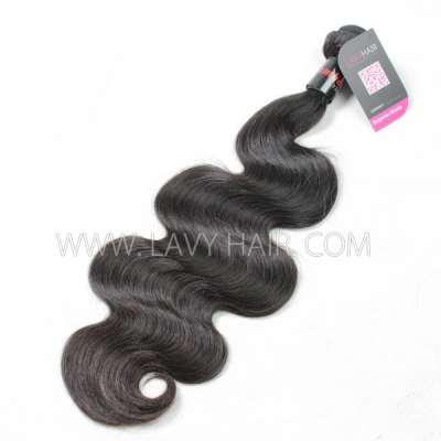 Superior Grade 1 Bundle Cambodian Body wave Hair Virgin Human Hair Extensions