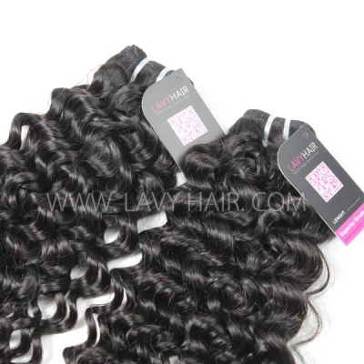 Superior Grade 1 Bundle Cambodian Italian Curly Virgin Human Hair Extensions