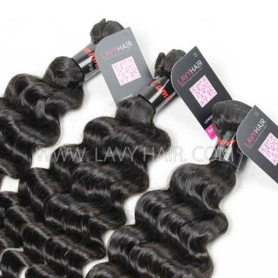 Superior Grade 1 Bundle Cambodian deep wave Virgin Human Hair Extensions