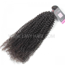 Superior Grade 1 bundle Cambodian Kinky Curly Virgin Human hair extensions