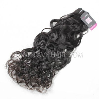 Superior Grade 1 bundle Indian Natural Wave Virgin Human Hair Extensions