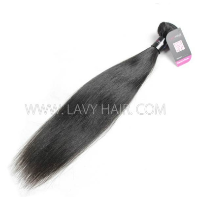 Superior Grade 1 bundle Indian Straight Virgin Human hair extensions