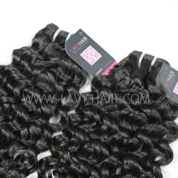 Superior Grade mix 3 or 4 bundles Mongolian Italian Curly Virgin Human Hair Extensions