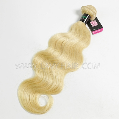 #613 Superior Grade 1 Bundle Straight&Body Wave Virgin Human hair extensions Brazilian Peruvian Malaysian Indian European Cambodian Burmese Mongolian