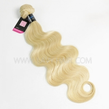 #613 Superior Grade 1 bundle Peruvian body wave Virgin Human hair extensions