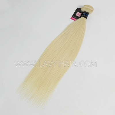 #613 Superior Grade mix 3 or 4 bundles Peruvian Straight Virgin Human hair extensions