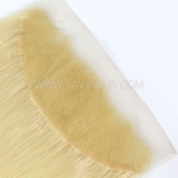 #613 Ear to ear 13x4 Lace Frontal Straight Human hair