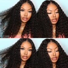 130% Density Full Lace Wigs Italian Curly Human Hair