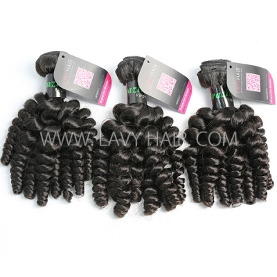 Superior Grade 3/4 bundles Spiral Curly Virgin Human Hair Extensions  Brazilian Peruvian Malaysian Indian European Cambodian Burmese Mongolian