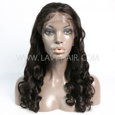 Lace Frontal Wigs 130% Density Straight Loose Wave Human Hair