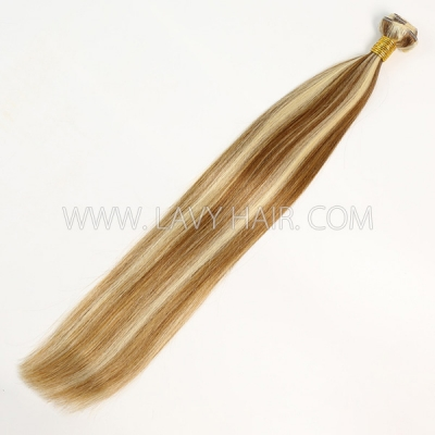 Color p8/613 Straight Hair Human Virgin Hair 1 Bundle
