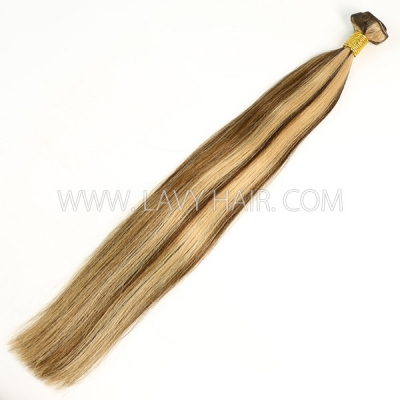 Color p4/27 Straight Hair Human Virgin Hair 1 Bundle