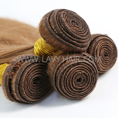 Color 30 Straight Hair Human Virgin Hair 1 Bundle