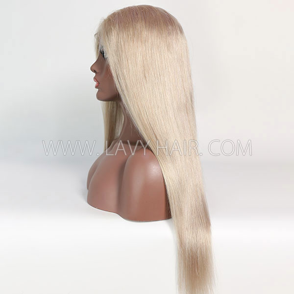 Color 18 Lace Closure 4*4 With Bundles Sewing Wigs Straight Human hair