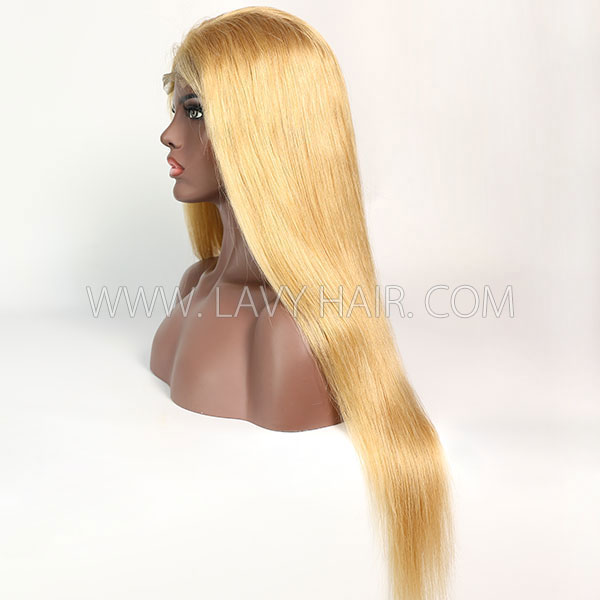 Color 520 Lace Closure 4*4 With Bundles Sewing Wigs Straight Human hair
