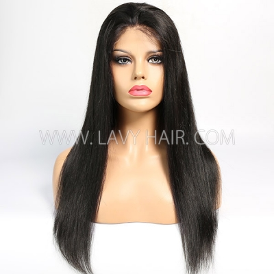4*4 Lace Closure Sewing Wig 130% Density 100% Human Hair
