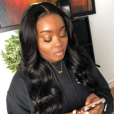 Making New Wavy Style Lace Wig Like Picture Only 7 Days CW-12