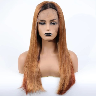 1B/130 Color Straight Human Hair Wig Customize Only 7 Working Days CW-69