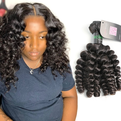 Superior Grade 1 Bundle Spiral curly Virgin Human Hair Extensions  Brazilian Peruvian Malaysian Indian European Cambodian Burmese Mongolian