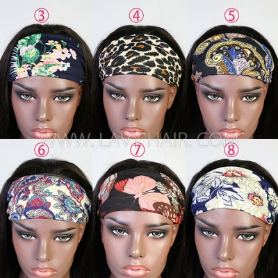 1PC Scarf Headband Fashion Elegant Women Hair Accessories