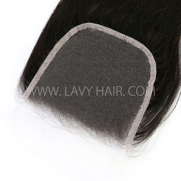 "HD Lace Closure 5*5"" Human Hair Slightly Preplucked"