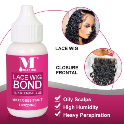 Free Shipping Hot Melt Glue For Lace Wig Hair Bonding Adhesive Gel