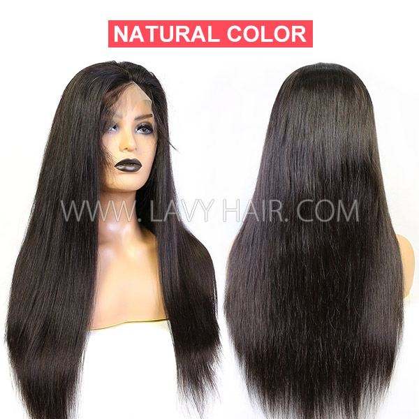 130% Density Full Lace Wigs Straight Hair Human Hair